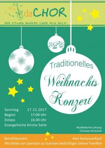 traditionelles Weihnachtskonzert am 3. Advent